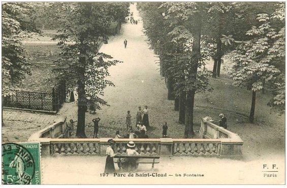 carte-postale-ancienne-92-saint-cloud-parc-la-fontaine-1908