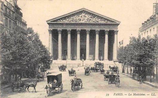 France-Paris-La-Madeleine-Church-Building-Front