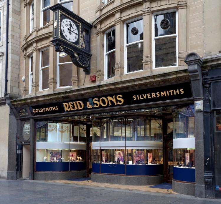Historic-jewellers-Reid-Sons-on-Blackett-Street