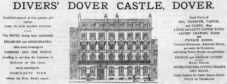 Dover-Castle-Hotel-advert-1879-Dover