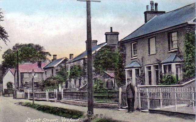 Suffolk, Yoxford, Brook Street Police Station 1910's.jpg