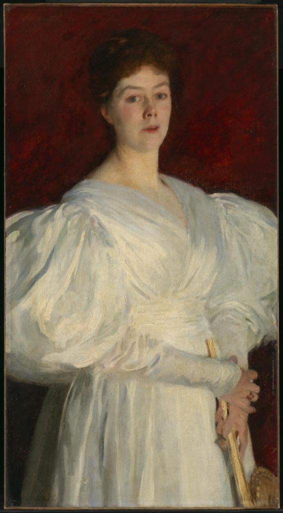 Mrs Frederick Barnard 1885 by John Singer Sargent 1856-1925