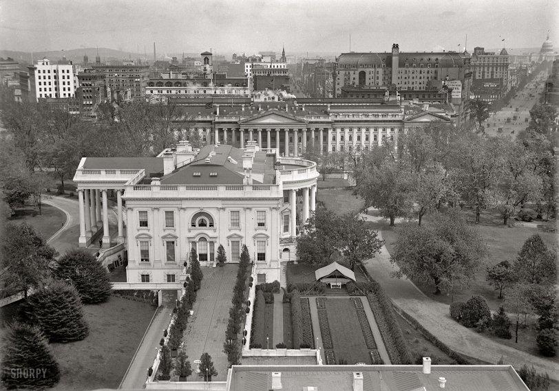 white house 1914