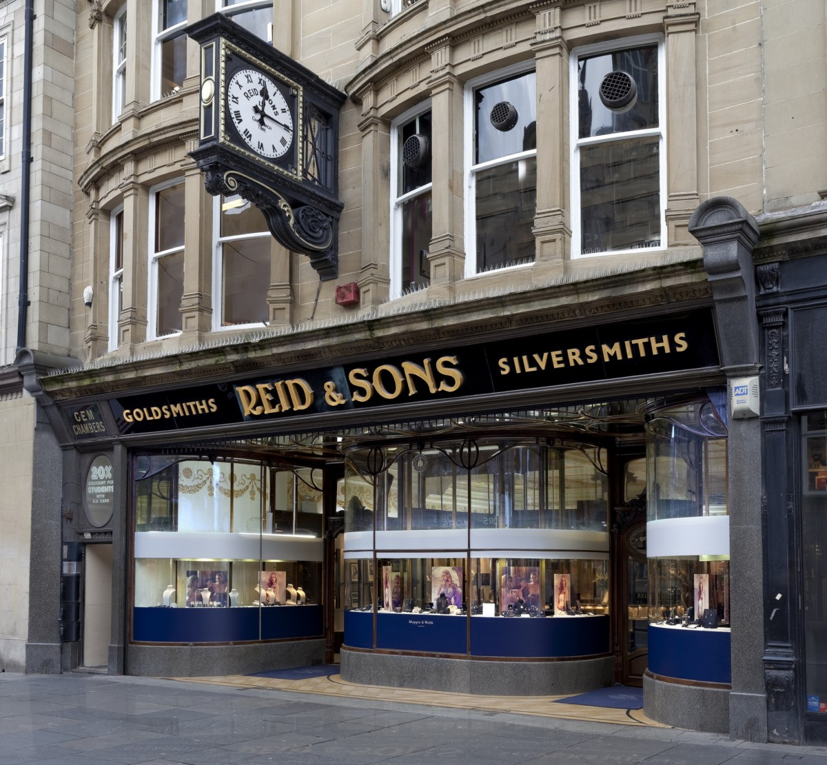 Historic-jewellers-Reid-Sons-on-Blackett-Street