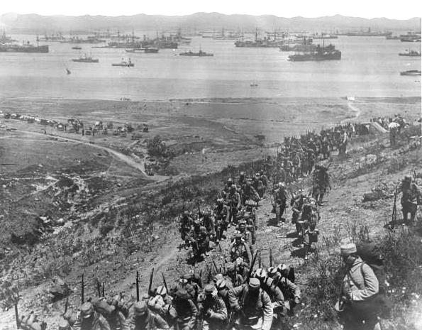 Landing_French-Gallipoli