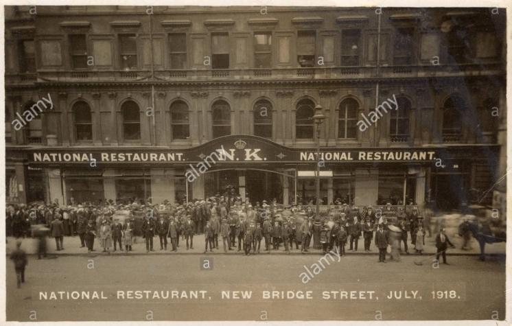 national-restaurant-new-bridge-street-london-ec4-july-1918-part-of-K07X0C