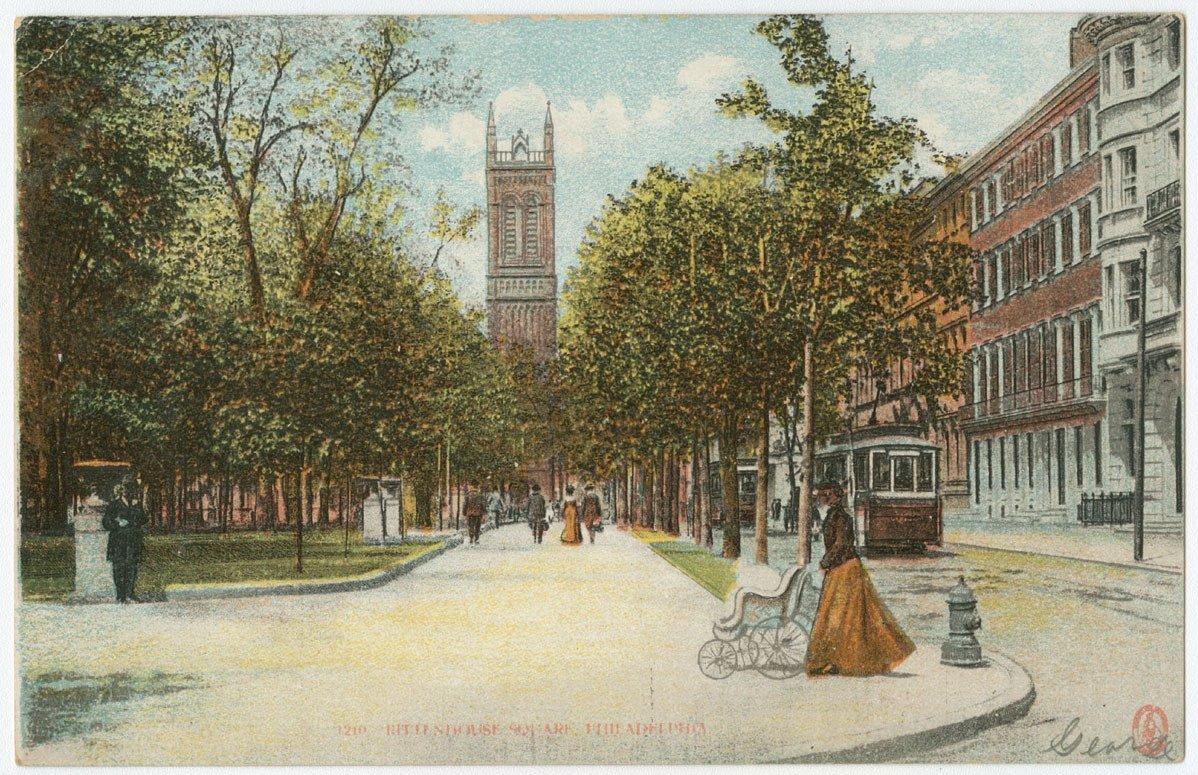 Rittenhouse Square postcards.
