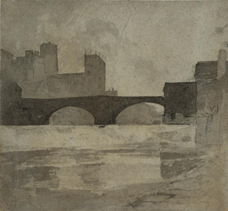 Durham c.1805 by John Sell Cotman 1782-1842