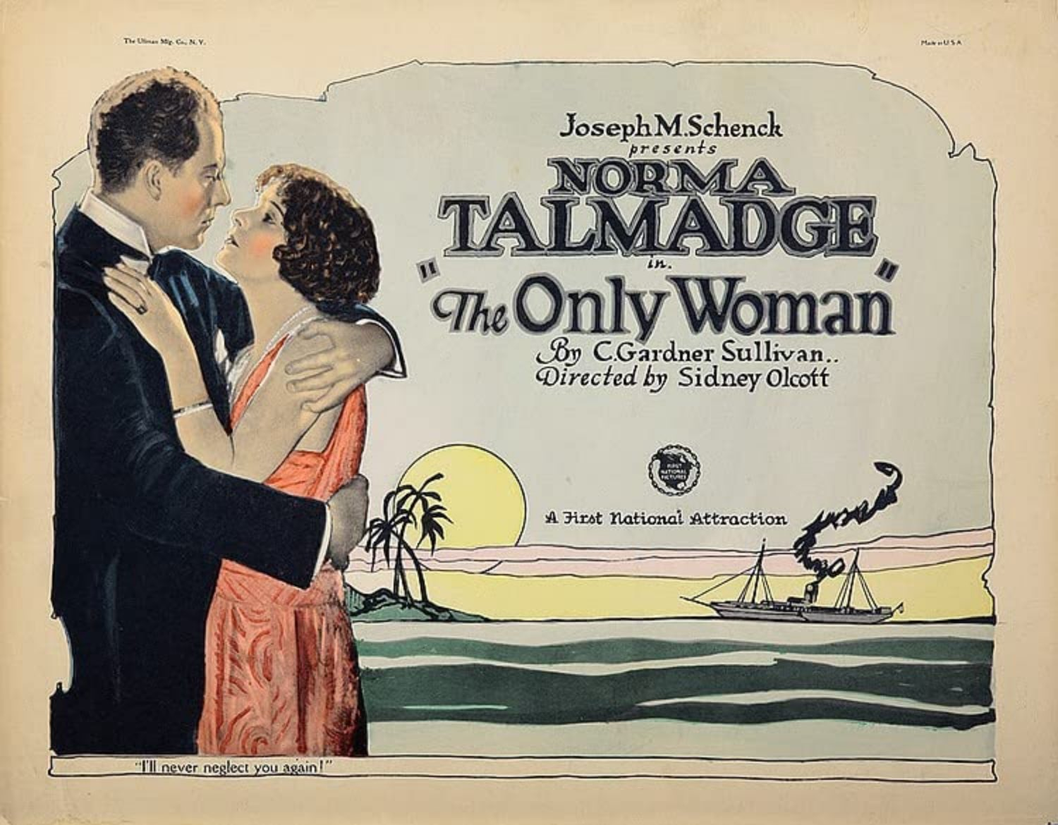 Norma Talmadge Only Woman
